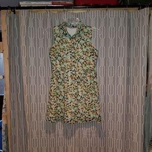 Volcom sleeveless floral dress size S/P/10